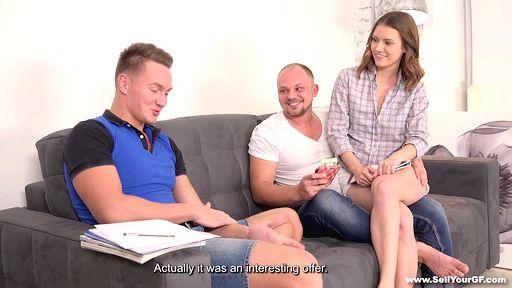 Превью фото Рогоносец наблюдает за сексом жены с крутым качком